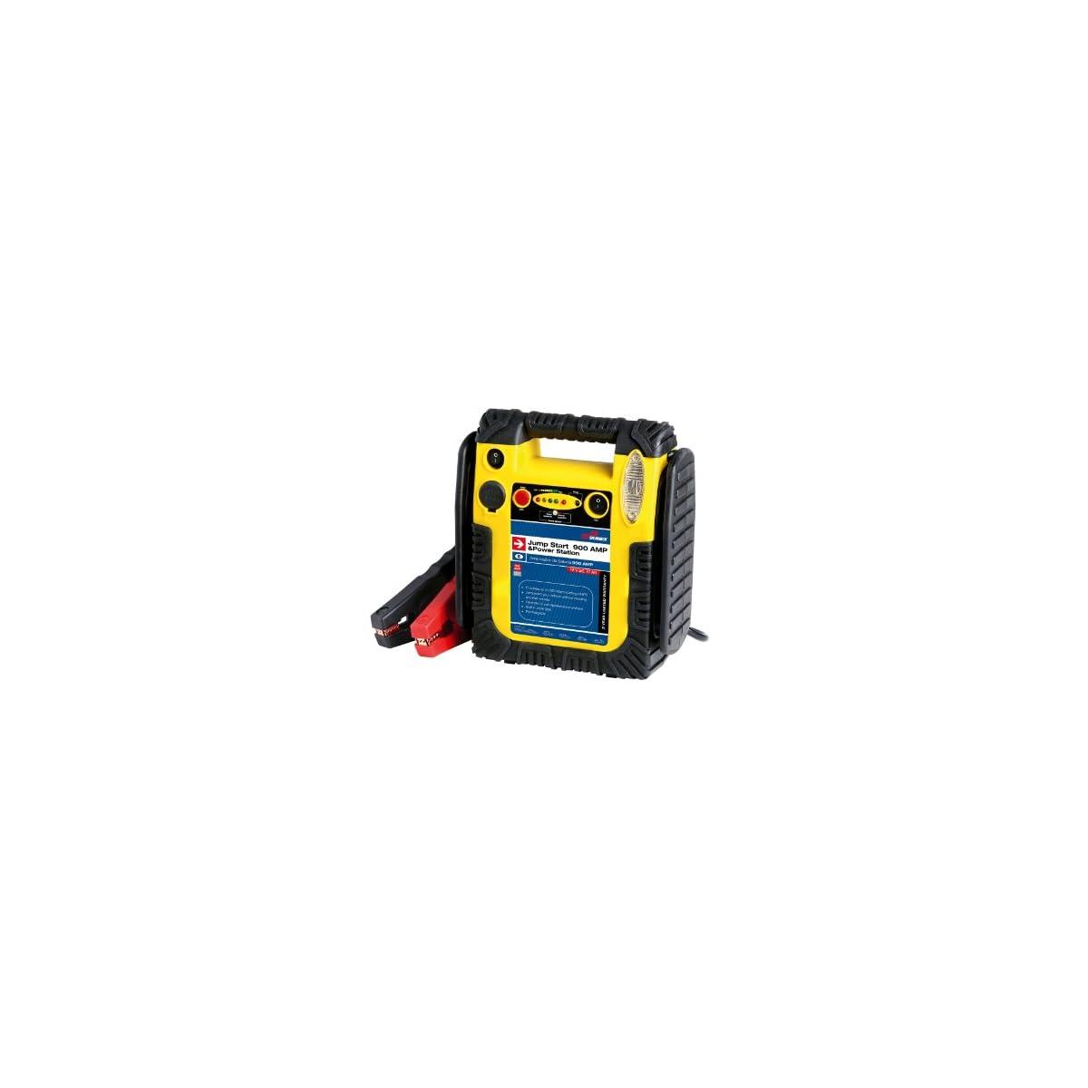 41JvcQmXZnL. SS1200  - SUMEX 3505137 - Arrancado De Batería Jump Start, 900W, Recargable 12V - Muy Potente