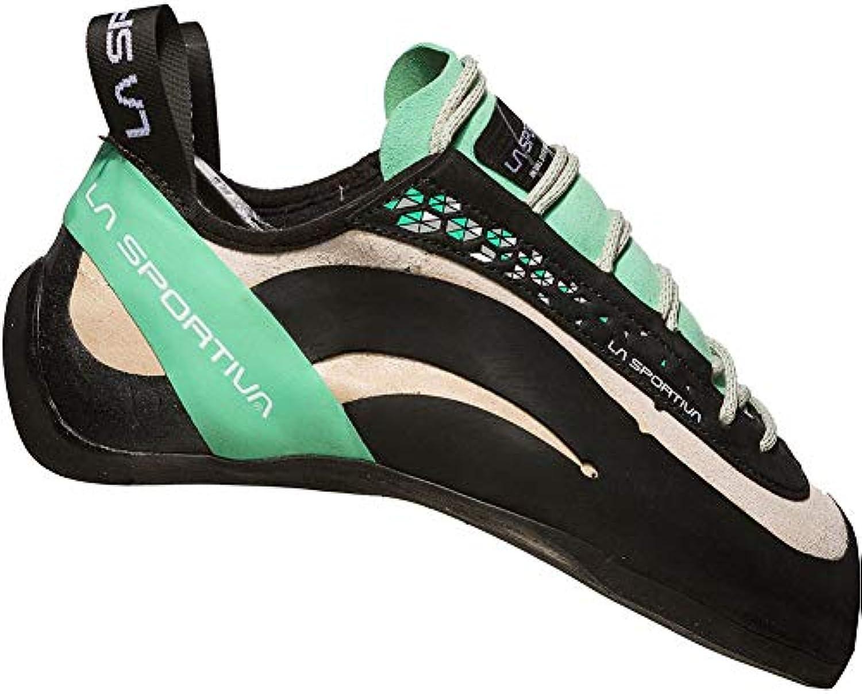La Sportiva da Ragazza Miura Donna Arrampicata Scarpe, bianca bianca bianca Jade verde, 35 EU   Prodotti Di Qualità    Uomo/Donne Scarpa  6686e9