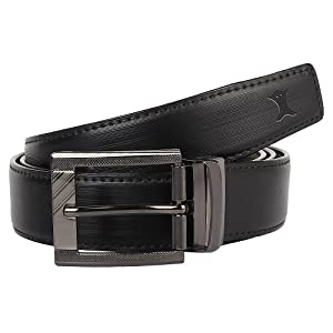 CREATURE Reversible Pu-Leather Formal Belt For Men(Color-Black/Brown||Length-46 inches upto waist 40 inches||BL-06) Best Online Shopping Store