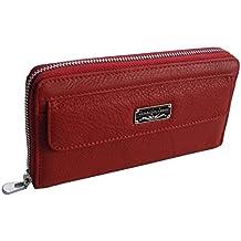 2e7b3505383ca XL Damengeldbörse von Jennifer Jones - feine Leder Börse mit Handschlaufe  Damenbörse Portemonnaie Geldbörse Lady´