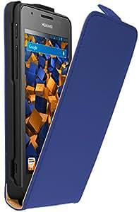 mumbi Flip Case Huawei Ascend G525 Dual Tasche blau