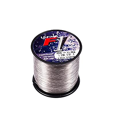 Ultima F1 Sea Fishing Line - Black or Gold or Titanium - All Sizes - 4oz Spool by Ultima