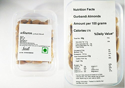Schtaron Dry Fruits Gurbandi Almonds-1 Kg  available at amazon for Rs.1654