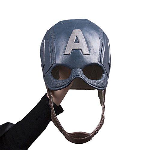 nihiug Captain America Kapitän American Maske Helm COS -