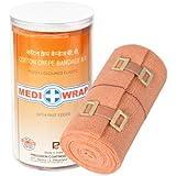 Mediwrap Crepe Bandage (10x4cm, Brown)