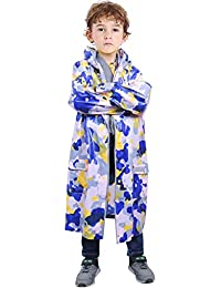 Zilee Niños Chubasquero Impermeable Chaqueta Lluvia - Niñas Poncho de Lluvia  Capa Patrón Impresopara Capelina de 259eb0f681f