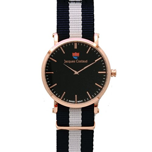 JACQUES COSTAUD * DOLCE VITA * Santa Monica Rose Gold JC-1RGBN08 Men's Watch (Hand Watch Swiss)