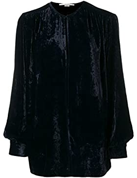 Stella Mccartney Blusa Donna 411846SJB874101 Velluto Blu