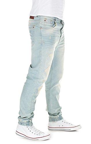 VSCT Herren Jeans Noah Cuffed Jeans Blau