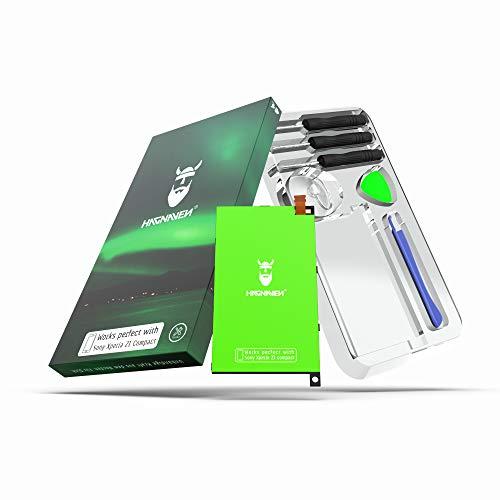 Hagnaven Batteria agli ioni di litio per Sony Xperia Z1 Compact con kit di montaggio | 2400 mAh | Batteria sostitutiva PIÙ POTENTE | CELLE DI ALTA QUALITÀ |MIGLIORE DURATA | Sostituisce LIS1529ERPC