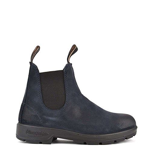 Blundstone Scarpe Uomo 1462 Indigo Blue Suede Leather AI17