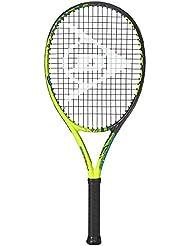 Dunlop Force 100 Tour 26 0160300196200006 - Raqueta de tenis (fuerza de agarre: 0), color negro y amarillo