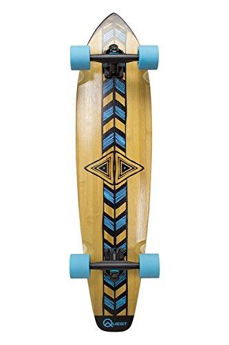 Quest Totem' Longboard monopatín, 36', Natural