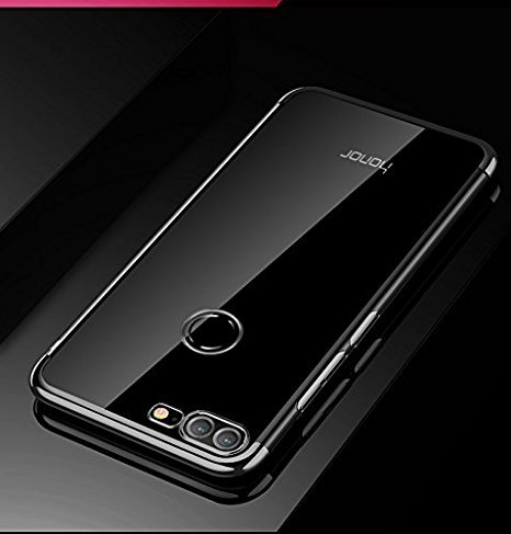 online store 44fa7 8823a Sajni Creations Honor 9 Lite Back Cover , Electroplated Soft Tpu 3D  Anti-Knock Ultra Thin Transparent Silicon Back Cover Case for Huawei Honor  9 Lite