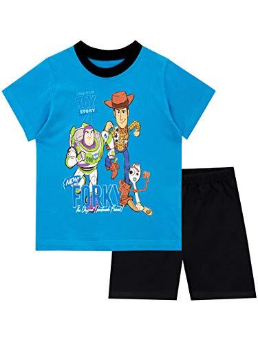 Disney Jungen Toy Story Schlafanzug Blau 128 -