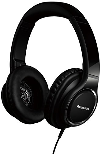 Panasonic RP-HD5 - Auriculares de diadema cerrados (4 Hz - 40 kHz, 44Ω, 98 dB), color negro