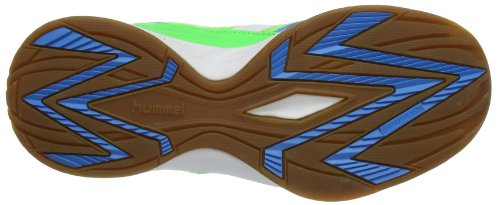 Hummel CELESTIAL COURT X3 60-269 Unisex-Erwachsene Hallenschuhe Grün (Green Gecko 6595)