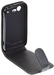 Caseit Leather Executive Flip Case for HTC Incredible S - Black