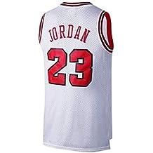 A-lee Men s Jersey toros Vintage campeón de la NBA, Michael Jordan