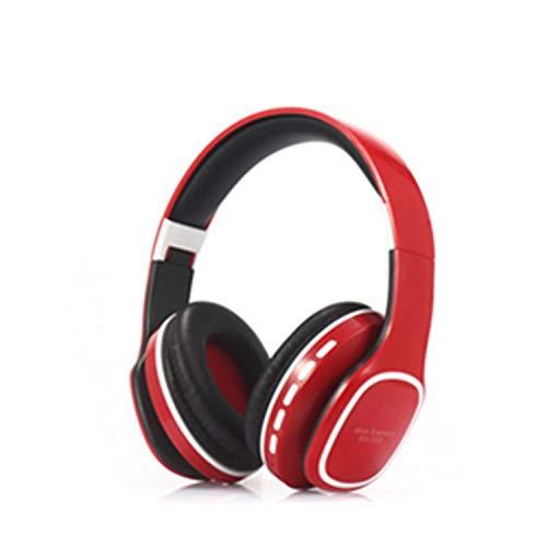 Bluetooth Headset Headset Headset Weight Bass Plug Carel McCall Folding Fm Red Box White Key Bluetooth-headset, White Box
