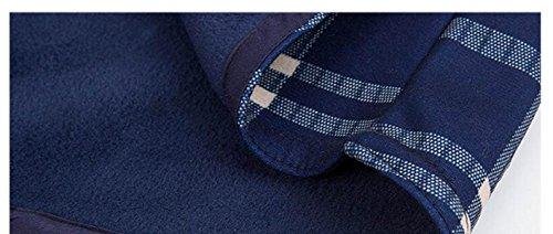 CHLXI Caldo Alla Moda Più Spessa Camicia Uomo Doppia Maglia 06