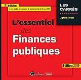L'essentiel des finances publiques