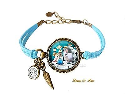 Bracelet * Drink me * Alice au pays des merveilles cabochon montre verre