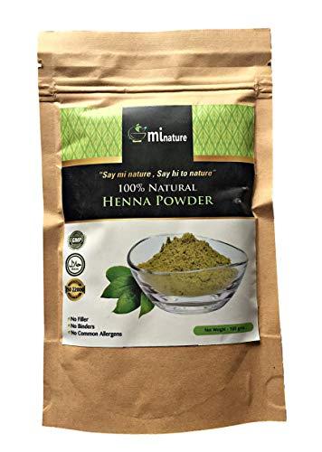 100% natürliches Henna-Pulver GMP Halal FDA Cert 100% natürlich -100 g