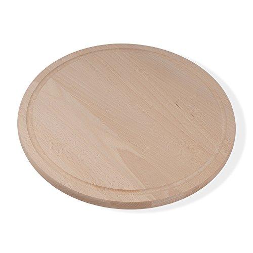 pizzabrett-fruhstucksbrett-rund-durchmesser-32-cm-15-cm-dick-buche-hell