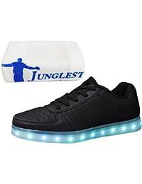 (Presente:pequeña toalla)Azul EU 38, moda Up Unisex 7 Ni?as JUNGLEST® Ni?os LED de co