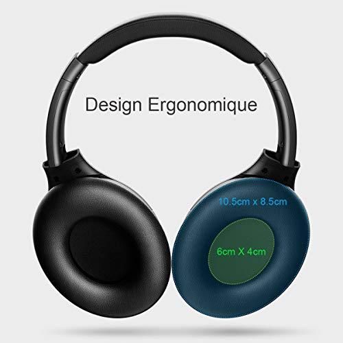 Casque Bluetooth Sans Fil Iteknic Casque Bluetooth Réduction De