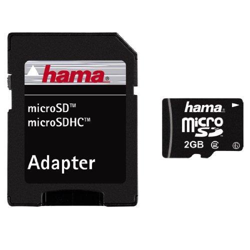 2 Gb Minisd-mobile (Hama micro-SD 2GB Speicherkarte)