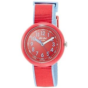 FlikFlak Mädchen Analog Quarz Uhr mit Stoff Armband FPNP045