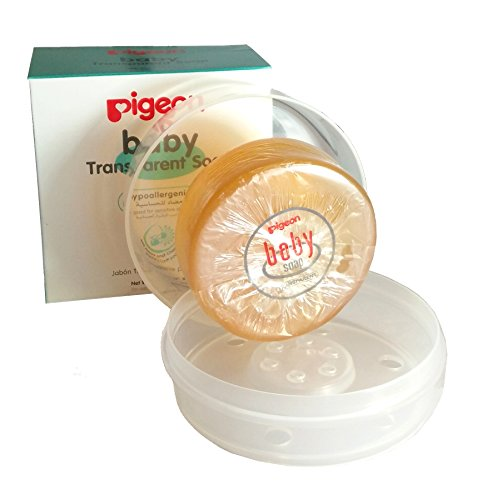 Baby Transparent Soap (Hypoallergenic) With Case 80G