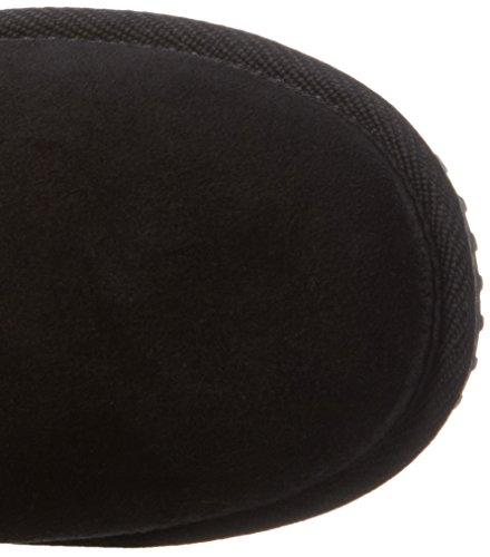 Nebulus Q1911, Stivali a metà polpaccio imbottiti caldi Donna Nero (nero 001)