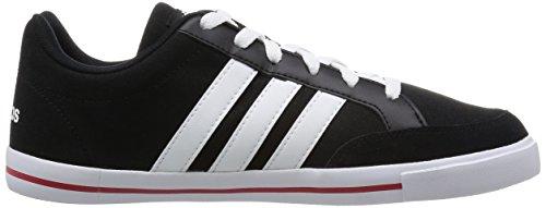 adidas Neo D Summer Herren Schuhe Schwarz Schwarz (Schwarz-Weiß)