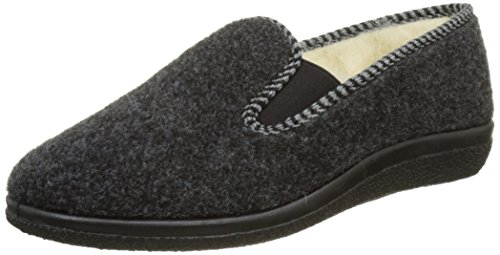 Rondinaud Gabriac, Chaussons Bas Homme Gris (06 Anthracite)