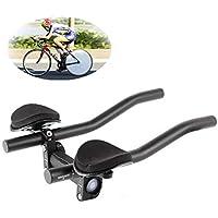 XenYonve Triatlón Manillar Bicicleta Aleación de Aluminio Brazo para Bicicleta de Carretera o Montaña Carrera de Ciclismo MTB Descansar