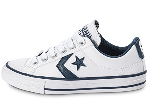 Converse Star Player Junior White Synthetic Trainers white