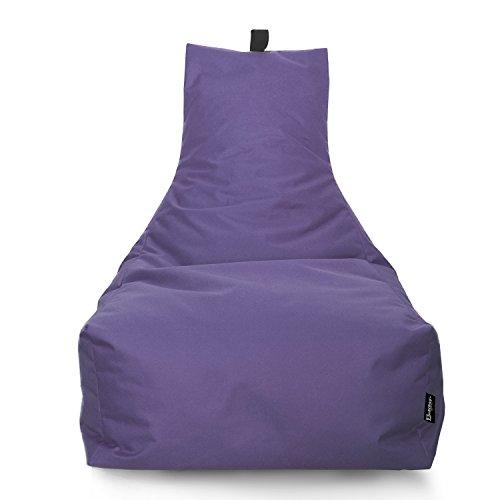 BuBiBag Lounge Sitzsack Sitzkissen XXL Tobekissen Bodenkissen Beanbag Kissen, für Kinder und...