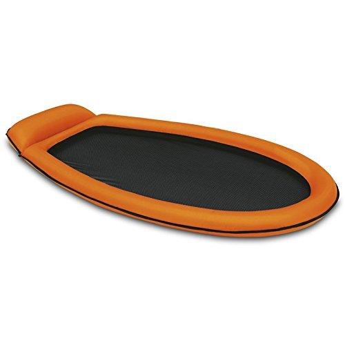 Preisvergleich Produktbild INTEX Mesh Lounge 178x94cm Luftmatratze Relaxeliege Luft Matratze Pool Liege (orange)