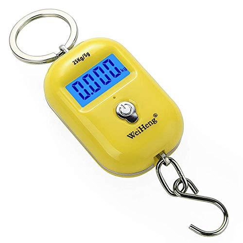 Escala equipaje digital 25kgx5g Mini gancho bolsillo