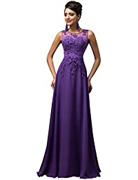 Robe de soiree violette amazon