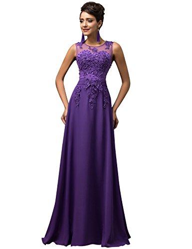 Donna vestiti eleganti estivi ragazza vestito lungo chiffon paillettes per cocktail cl7555-2 44