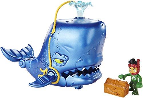 Mattel CGJ89 Fisher-Price - Käpt'n Jake und die Nimmerland Piraten Großes Wal-Abenteuer - Jake Abenteuer