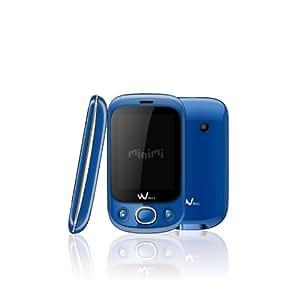 Wiko Minimi Téléphone Portable Bibande GSM/GPRS Bluetooth Bleu