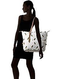 Forever 21 Women's Handbag (White/Multi) (00075657011_0007565701_WHITE/MULTI_1_)