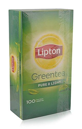 Lipton Green Tea - Green Tea, 100 Tea Bags Pack