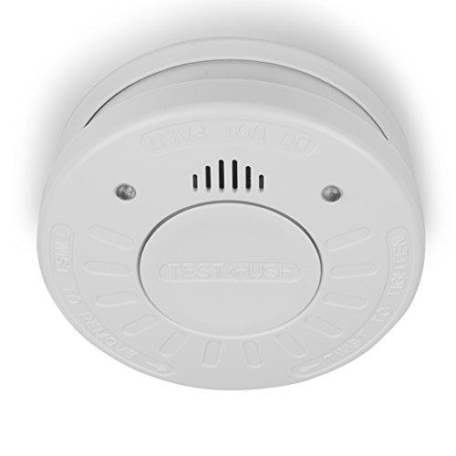 Smartwares 10-Jahres VDS-Rauchmelder mit sehr lautem Alarm und Testtaste, RM520