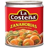 La Costeña Zanahoria en Escabeche - Paquete de 24 x 200 gr - Total: 4800 gr